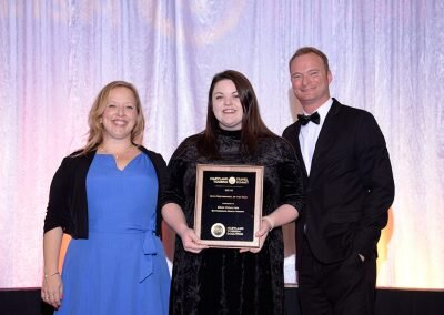 New Professional of the Year, Erin Coulter, Buttonwood Beach Resort