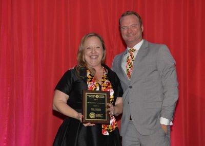 MTC Volunteer of the Year – Nora Campbell, National Aquarium